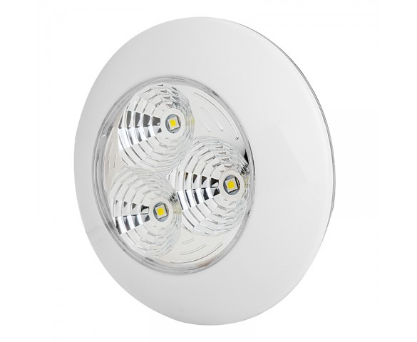 3 Watt Round Dome Light LED Fixture