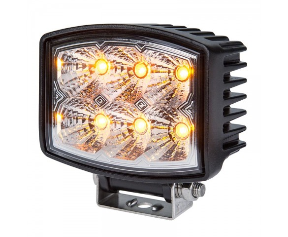 "4-1/2"" Square 10W High Powered LED Work Light"