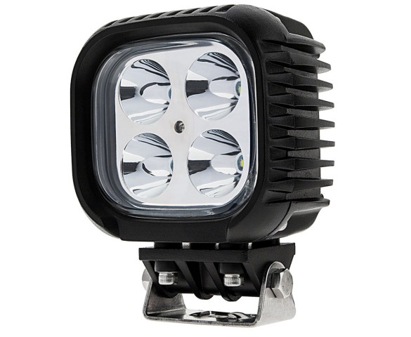 "5"" Square 40W Heavy Duty High Powered LED Work Light"