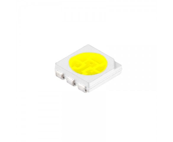 5050 SMD LED - 10500K Cool White Surface Mount LED w/120 Degree Viewing Angle