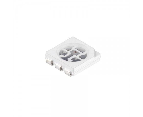 5050 SMD LED - 520nm Green Surface Mount LED w/120 Degree Viewing Angle