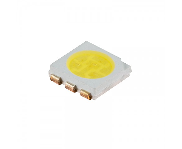 5050 SMD LED - 6500K Pure White Surface Mount LED w/120 Degree Viewing Angle - Gallery