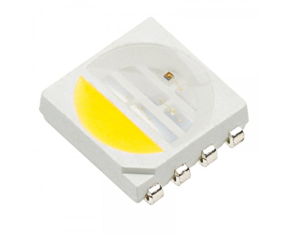 5050 SMD LED - RGBNW Surface Mount LED w/120 Degree Viewing Angle