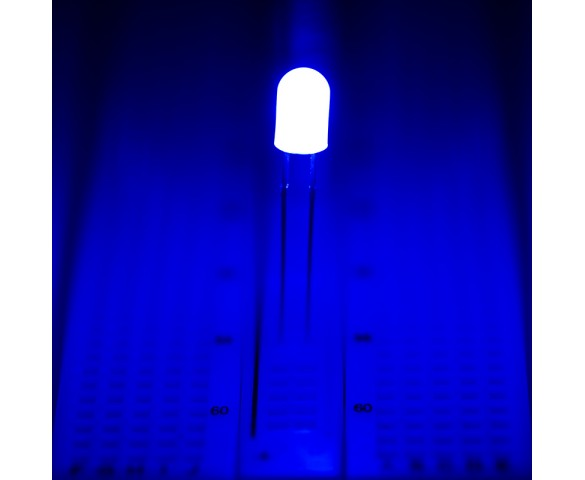 5mm Blue LED (360 degree)