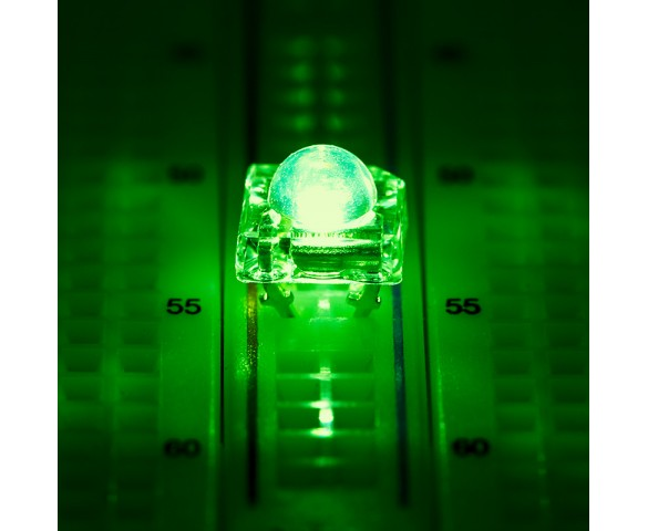 5mm Green High Flux LED