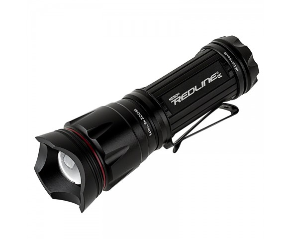 6092 REDLINE OC Optimized Clarity Tactical Flashlight with Strobe Mode