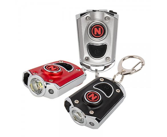 Ultra-Bright Rechargeable LED Pocket Light - NEBO MYCRO LED Flashlight w/ Turbo Mode - 400 Lumens
