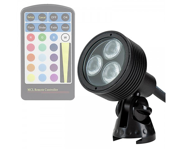 6W Color Changing RGB LED Landscape Spotlight (remote sold separately)