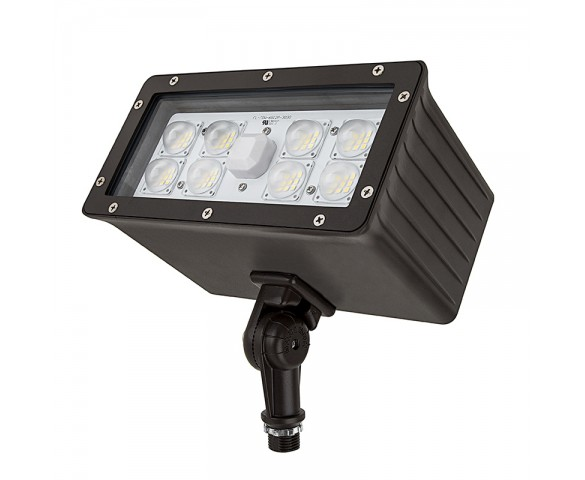 70 Watt Knuckle-Mount LED Flood Light - 6,800 Lumens
