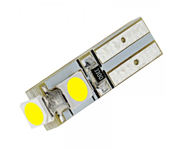 74 LED Bulb - 3 SMD LED - Miniature Wedge Retrofit