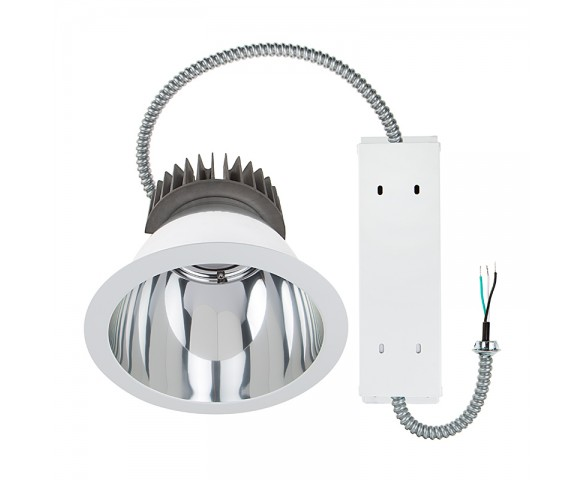 "8"" Architectural Retrofit LED Downlight - 280 Watt Equivalent - 2,800 Lumens"
