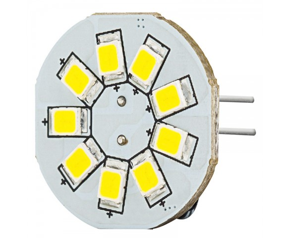 LED G4 Lamp, 9 LED Disc Type with Back Pins