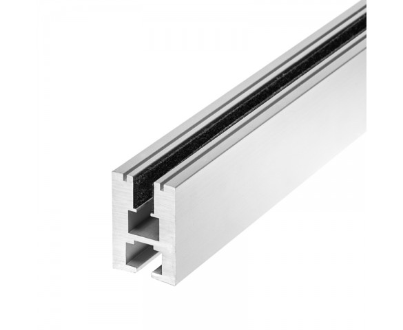 EX-ALU series Edge Lit Channel for LED light strip Profile Housing
