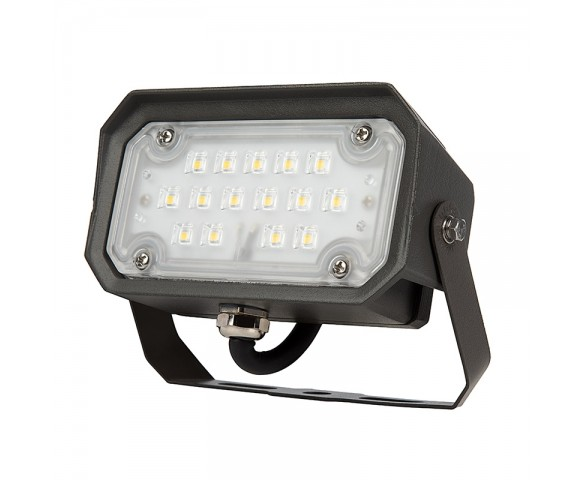 15W Yoke Mount LED Flood Light - 70W Equivalent - 1800 Lumens