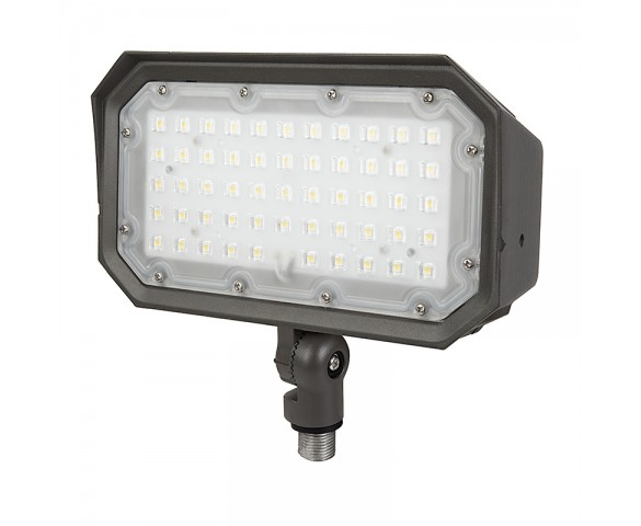 50W Knuckle Mount LED Flood Light - 175W Equivalent - 6000 Lumens
