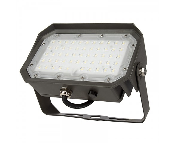 50W Yoke Mount LED Flood Light - 175W Equivalent - 6000 Lumens