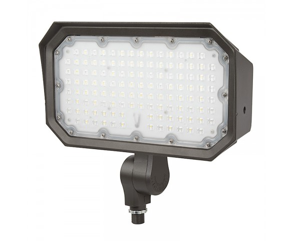 70W Knuckle Mount LED Flood Light - 200W Equivalent - 9100 Lumens