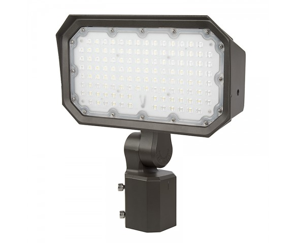 70W Slipfitter Mount LED Flood Light - 200W Equivalent - 9100 Lumens
