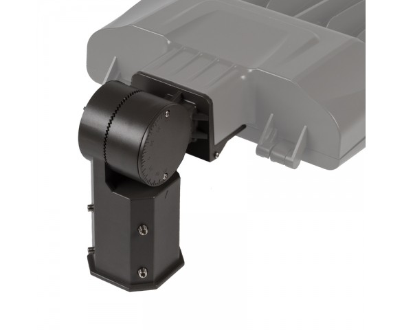 Knuckle Slipfitter Mount for LED Parking Lot Lights