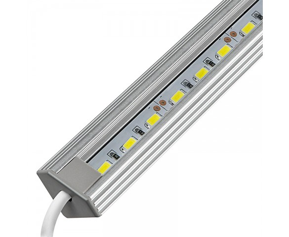 Aluminum LED Light Bar Fixture - Corner Mount