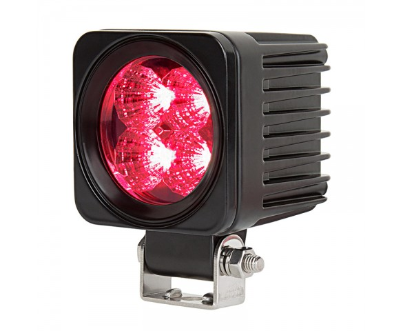 "2-1/2"" LED Mini Auxiliary Hunting and Camping Light - Red - 207 Lumens"