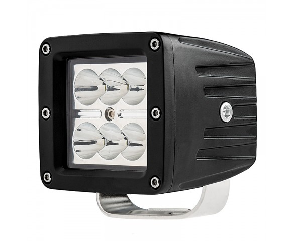 "LED Work Light - 3"" Square - 18W"