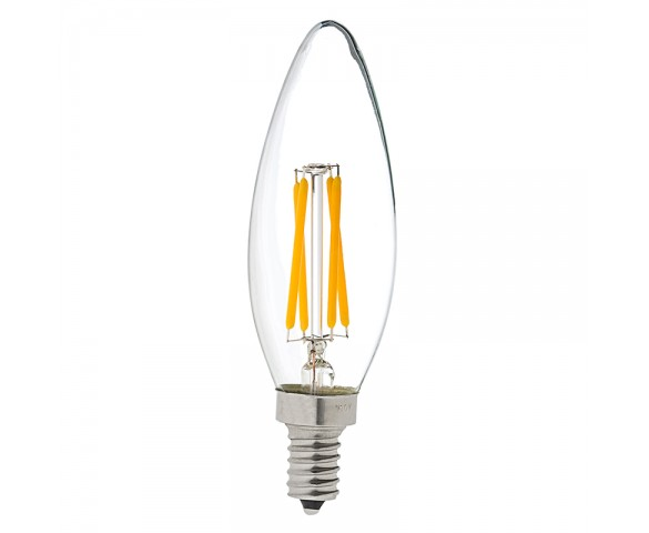 B10 Led Filament Bulb 40 Watt Equivalent Led Candelabra Bulb W