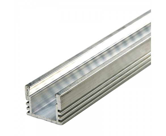 Deep Surface Mount Aluminum Profile Housing for LED Strip Lights - KLUS PDS4-ALU Series