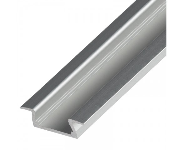Flush Mount Aluminum Profile Housing for LED Strip Lights - KLUS MICRO-K Series