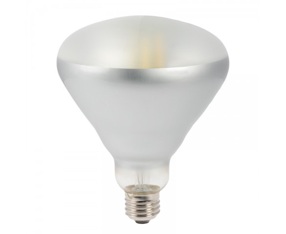BR40D LED Bulb - 60W Equivalent - Dimmable Glass Filament Flood Light Bulb - 640 Lumens