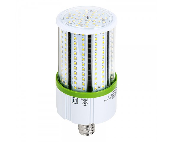 30W LED Corn Bulb - 3,900 Lumens - 100W Equivalent Metal Halide - E26/E27 Medium Base - 4000K