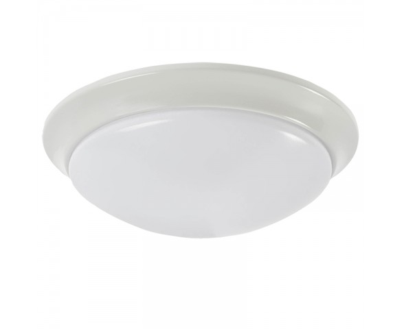 "11"" Flush Mount LED Ceiling Light w/ Multiple Housing Options - 75 Watt Equivalent - Dimmable - 1,100 Lumens"