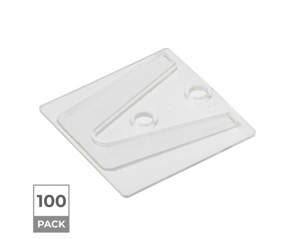 100 Pack - Parapet Christmas Light Clips - Compatible with Shingle Tab (CLS-CLIP5-100PK)