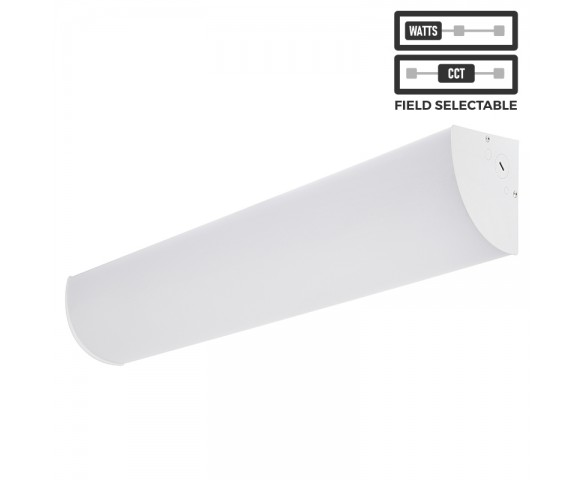 2' Corner Light Fixture - Field Selectable - Color Temperature 3000K/4000K/5000K - Wattage 10W/14W/20W/30W