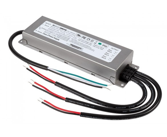 LED Switching Power Supply - DiodeDrive Series - 150W Enclosed Power Supply - 12V