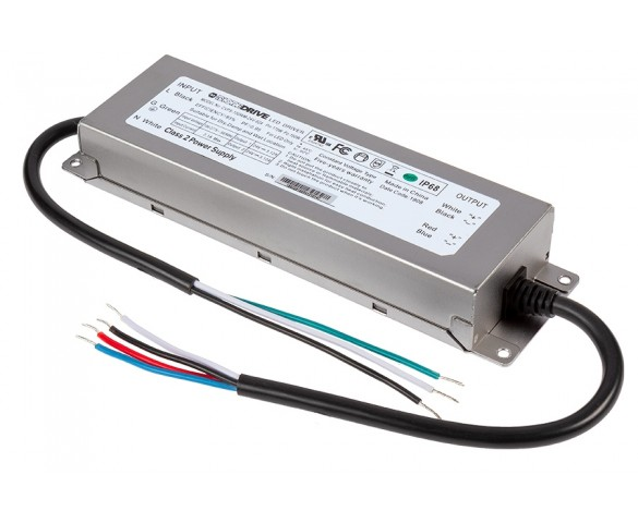 LED Switching Power Supply - DiodeDrive Series - 150W Enclosed Power Supply - 24V