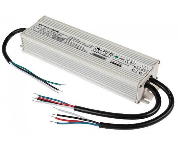 LED Switching Power Supply - DiodeDrive Series - 240W Enclosed Power Supply - 24V