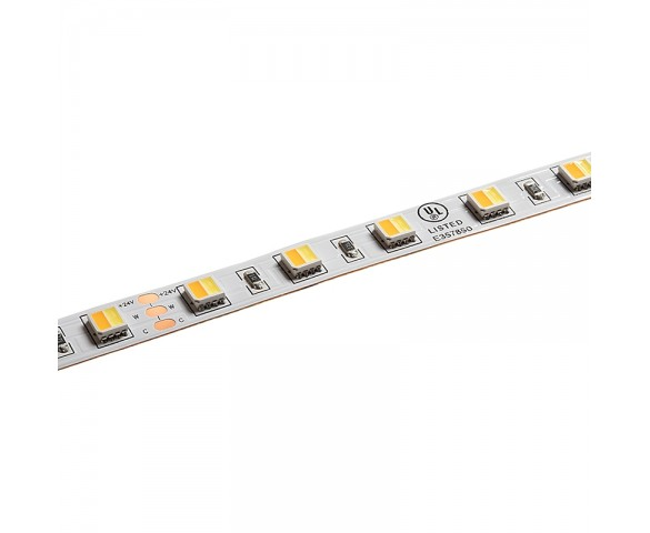 5m Tunable White LED Strip Light - 2-in-1 Color-Changing LED Tape Light - 24V - IP20