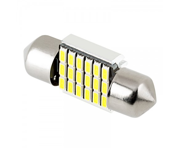 DE3022 CAN Bus LED Bulb - 18 SMD LED Festoon - 31mm
