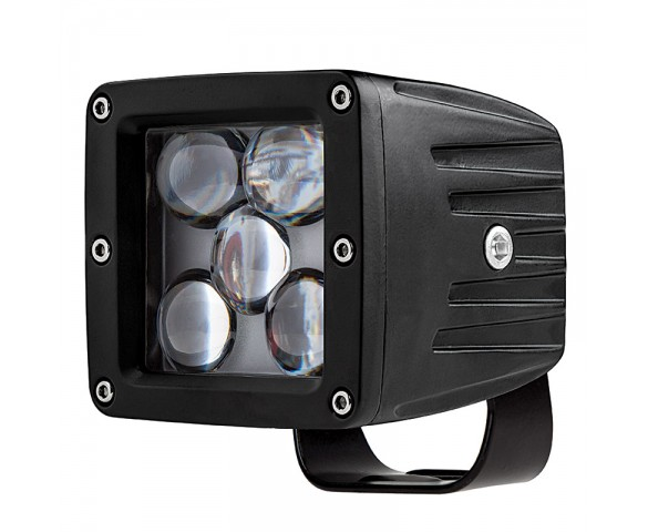 "LED Driving Light - 3"" Square - 25W"