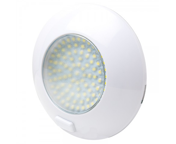 5.5 Watt Round Dome Light LED Fixture with 3 Position Switch