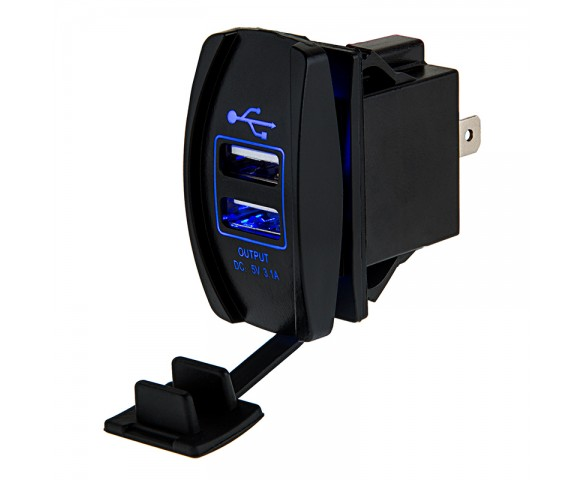 Dual USB Power Port