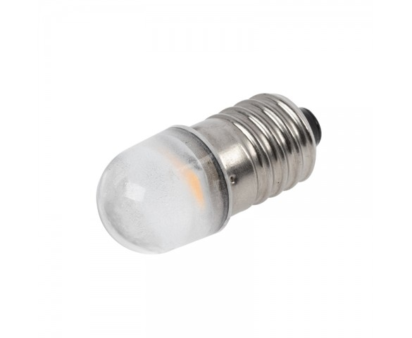 T3-1/4 LED Bulb - 6V - E10 Base - 20 Lumen - 180 Degree - 6500K/3000K