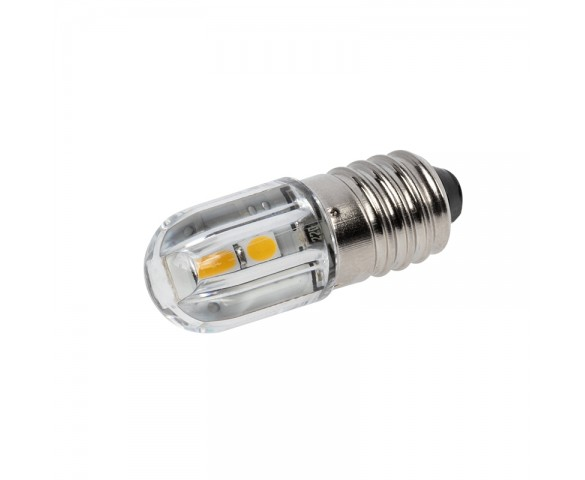 T3-1/4 LED Bulb - 12V - E10 Base - 60 Lumen - 360 Degree - 6500K/3000K