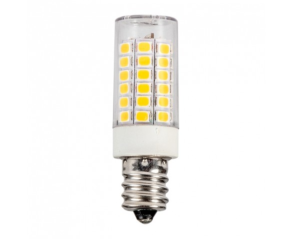 T4 LED Bulb - 30 Watt Equivalent - 120V AC - E12 Base - 320 Lumens - 6000K/4000K/2700K