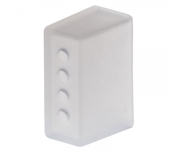 10mm Silicone End Cap - 4 Holes