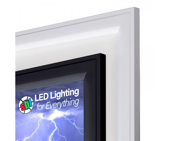 LED Skylight w/ Forest Boughs Skylens® - 2x4 Dimmable LED Panel Light - Flush Mount/Drop Ceiling Recessed
