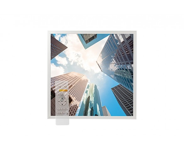 Tunable White LED Skylight w/ Downtown Skylens® Diffuser - 2x2 Dimmable LED Panel Light - Drop Ceiling