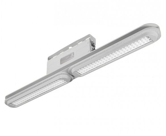 80W LED Linear Explosion Proof Light for Class I, Division 2 - 11200 lumens - 250 MHEquivalent - 5000K