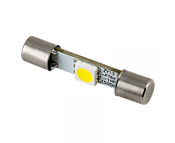 3AG Fuse LED Bulb - 1 SMD LED Festoon